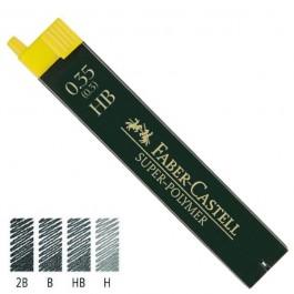ΜΥΤΕΣ ΜΗΧΑΝΙΚΟΥ ΜΟΛΥΒΙΟΥ 0.35 HB FABER-CASTELL ΣΕΤ 12 ΜΥΤΕΣ Μολύβια ειδη γραφειου, αναλωσιμα, γραφικη υλη - paperless.gr