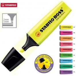 ΜΑΡΚΑΔΟΡΟΣ ΥΠΟΓΡΑΜΜΙΣΗΣ BOSS 70 STABILO ~ 2-5mm Είδη Υπογράμμισης ειδη γραφειου, αναλωσιμα, γραφικη υλη - paperless.gr