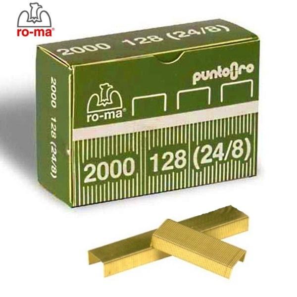 ΣΥΡΜΑΤΑ ΣΥΡΡΑΠΤΙΚΟΥ Νο24/8 - No 128 2000τεμ. ROMA MAESTRI Συρραπτικά - Αποσυρραπτικά ειδη γραφειου, αναλωσιμα, γραφικη υλη - paperless.gr