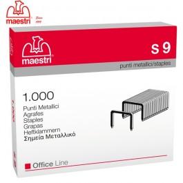ΣΥΡΜΑΤΑ ΣΥΡΡΑΠΤΙΚΟΥ Νο 9 - S9 1000τεμ. ROMA MAESTRI Συρραπτικά - Αποσυρραπτικά ειδη γραφειου, αναλωσιμα, γραφικη υλη - paperless.gr
