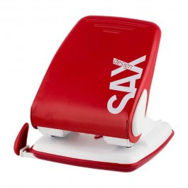 ΠΕΡΦΟΡΑΤΕΡ 2 ΤΡΥΠΩΝ  40 ΦΥΛΛΩΝ  4.0mm 518 SAX ΜΕ ΟΔΗΓΟ Περφορατέρ ειδη γραφειου, αναλωσιμα, γραφικη υλη - paperless.gr