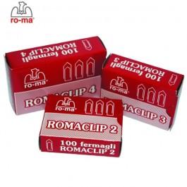 ΣΥΝΔΕΤΗΡΕΣ ΜΕΤΑΛΛΙΚΟΙ Νο4 100 ΤΕΜΑΧΙΑ ROMA MAESTRI Συνδετήρες - Κλίπ - Ελάσματα ειδη γραφειου, αναλωσιμα, γραφικη υλη - paperless.gr
