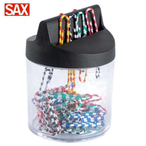 Βάση συνδετηρων μαγνητική με συνδετήρες χρωματιστούς ριγέ 50 τεμ. 843 sax  Συνδετήρες - Κλίπ - Ελάσματα ειδη γραφειου, αναλωσιμα, γραφικη υλη - paperless.gr