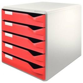 ΣΥΡΤΑΡΙΕΡΑ ΠΛΑΣΤΙΚΗ  5 ΣΥΡΤΑΡΙΑ 5280 LEITZ Συρταριέρες ειδη γραφειου, αναλωσιμα, γραφικη υλη - paperless.gr
