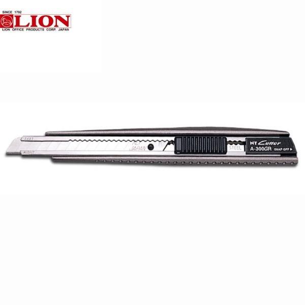 ΚΟΠΙΔΙ ΜΕΤΑΛΛΙΚΟ A-300GR AUTO-LOCK LION Ψαλίδια - Κοπίδια - Χάρακες ειδη γραφειου, αναλωσιμα, γραφικη υλη - paperless.gr