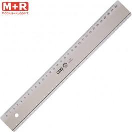 ΧΑΡΑΚΑΣ ΠΛΑΣΤΙΚΟΣ 30cm M+R Ψαλίδια - Κοπίδια - Χάρακες ειδη γραφειου, αναλωσιμα, γραφικη υλη - paperless.gr