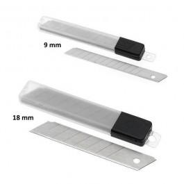 ΛΑΜΕΣ ΚΟΠΙΔΙΟΥ ΜΕΓΑΛΕΣ 18mm 10 τεμάχια Ψαλίδια - Κοπίδια - Χάρακες ειδη γραφειου, αναλωσιμα, γραφικη υλη - paperless.gr