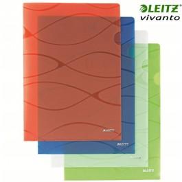 """ΖΕΛΑΤΙΝΕΣ Α4+ """"L"""" VIVANTO ΣΕΤ 5 TEMΑΧΙΩΝ 4082 LEITZ - Ζελατίνες-Θήκες Πλαστικές - ειδη γραφειου, αναλωσιμα, γραφικη υλη - paperless.gr"""