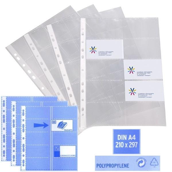 ΘΗΚΗ BUSINESS CARDS ΑΝΤΑΛΛΑΚΤΙΚΗ ΖΕΛΑΤΙΝΑ 10 ΘΕΣΕΩΝ Α4 ΓΙΑ ΕΠΑΓΓΕΛΜΑΤΙΚΕΣ ΚΑΡΤΕΣ VIQUEL Ζελατίνες-Θήκες Πλαστικές ειδη γραφειου, αναλωσιμα, γραφικη υλη - paperless.gr