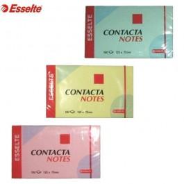 ΑΥΤΟΚΟΛΛΗΤΑ ΧΑΡΤΑΚΙΑ  75X125mm ESSELTE 3655 100 ΦΥΛΛΑ ΧΡΩΜΑΤΑ Αυτοκόλλητα Χαρτάκια-Κύβοι ειδη γραφειου, αναλωσιμα, γραφικη υλη - paperless.gr