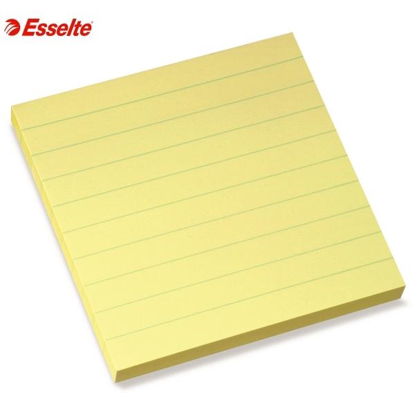 ΑΥΤΟΚΟΛΛΗΤΑ ΧΑΡΤΑΚΙΑ 100X100mm ΜΕ ΓΡΑΜΜΕΣ 100 ΦΥΛΛΑ ESSELTE Αυτοκόλλητα Χαρτάκια-Κύβοι ειδη γραφειου, αναλωσιμα, γραφικη υλη - paperless.gr