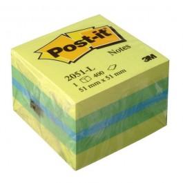 ΑΥΤΟΚΟΛΛΗΤΑ ΧΑΡΤΑΚΙΑ  51X 51mm Post-it 2051-L 400 ΦΥΛΛΑ 3M ΚΥΒΟΣ Αυτοκόλλητα Χαρτάκια-Κύβοι ειδη γραφειου, αναλωσιμα, γραφικη υλη - paperless.gr