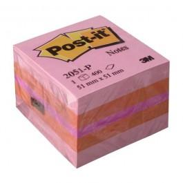 ΑΥΤΟΚΟΛΛΗΤΑ ΧΑΡΤΑΚΙΑ  51X 51mm Post-it 2051-P 400 ΦΥΛΛΑ 3M ΚΥΒΟΣ Αυτοκόλλητα Χαρτάκια-Κύβοι ειδη γραφειου, αναλωσιμα, γραφικη υλη - paperless.gr