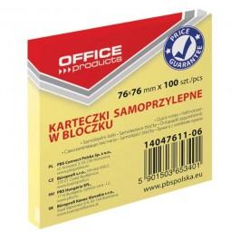 ΑΥΤΟΚΟΛΛΗΤΑ ΧΑΡΤΑΚΙΑ  76X 76mm MEMO 4654 100Φ ΚΙΤΡΙΝΟ Αυτοκόλλητα Χαρτάκια-Κύβοι ειδη γραφειου, αναλωσιμα, γραφικη υλη - paperless.gr