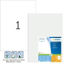 ΕΤΙΚΕΤΕΣ Laser/Copier/InkJet 420,0Χ297,0 100 ΦΥΛΛΑ Α3 8692 HERMA Χάρτινες ετικέτες ειδη γραφειου, αναλωσιμα, γραφικη υλη - paperless.gr