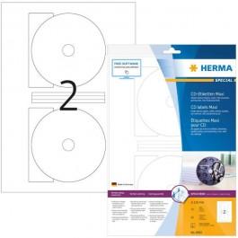 ΕΤΙΚΕΤΕΣ INKJET CD/DVD GLOSSY FULL FACE 10 ΦΥΛΛΑ 8885 HERMA για CD-DVD ειδη γραφειου, αναλωσιμα, γραφικη υλη - paperless.gr