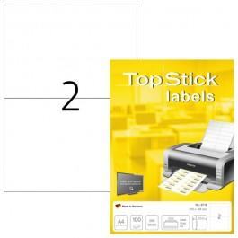 ΕΤΙΚΕΤΕΣ Laser/Copier/InkJet 210,0χ148,5 100 ΦΥΛΛΑ 8718 TOPSTICK Χάρτινες ετικέτες ειδη γραφειου, αναλωσιμα, γραφικη υλη - paperless.gr