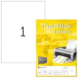 ΕΤΙΚΕΤΕΣ Laser/Copier/InkJet 210,0χ297,0 100 ΦΥΛΛΑ 8720 TOPSTICK Χάρτινες ετικέτες ειδη γραφειου, αναλωσιμα, γραφικη υλη - paperless.gr