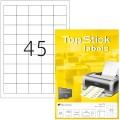 Ετικέτες Laser/Copier/InkJet  38,1χ 29,6 100 ΦΥΛΛΑ 8778 topstick Χάρτινες ετικέτες ειδη γραφειου, αναλωσιμα, γραφικη υλη - paperless.gr