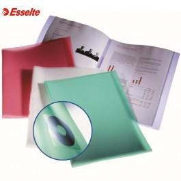 ΝΤΟΣΙΕ ΠΑΡΟΥΣΙΑΣΗΣ ΜΕ  40 ΔΙΑΦΑΝΕΙΣ ΘΗΚΕΣ Α4 ESSELTE MINERAL Ντοσιέ Παρουσιάσεων-Σεμιναρίων ειδη γραφειου, αναλωσιμα, γραφικη υλη - paperless.gr