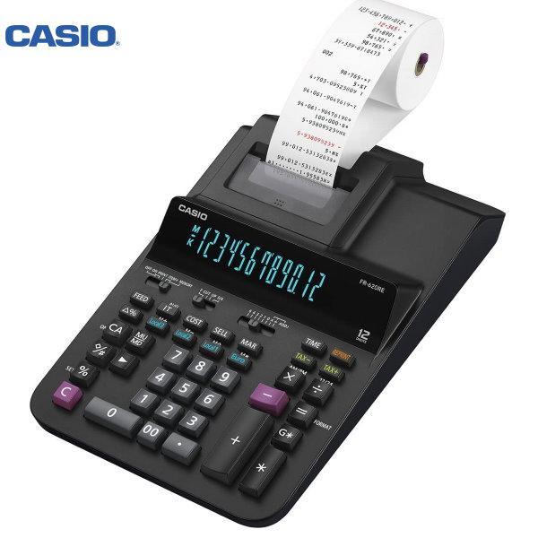 ΑΡΙΘΜΟΜΗΧΑΝΗ ΜΕ ΧΑΡΤΟΤΑΙΝΙΑ FR-620TEC CASIO Αριθμομηχανές ειδη γραφειου, αναλωσιμα, γραφικη υλη - paperless.gr