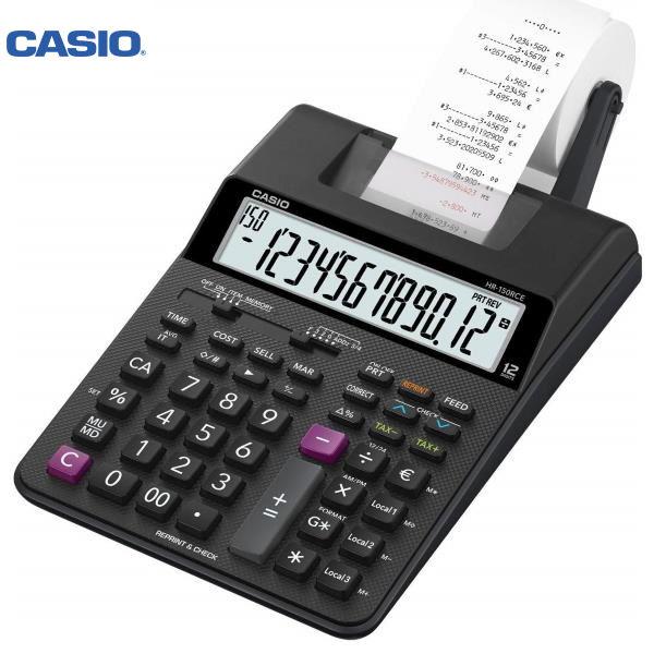 ΑΡΙΘΜΟΜΗΧΑΝΗ ΜΕ ΧΑΡΤΟΤΑΙΝΙΑ HR-150TEC CASIO Αριθμομηχανές ειδη γραφειου, αναλωσιμα, γραφικη υλη - paperless.gr