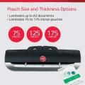 ΜΗΧΑΝΗ ΠΛΑΣΤΙΚΟΠΟΙΗΣΗΣ Α3 2 κυλίνδρων FUSION 3100L GBC Μηχανές Πλαστικοποίησης-Αναλώσιμα ειδη γραφειου, αναλωσιμα, γραφικη υλη - paperless.gr