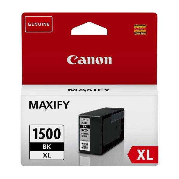 ΜΕΛΑΝΙ CANON PGI-1500XL BLACK ~1200p 9182B001 Canon inkjet ειδη γραφειου, αναλωσιμα, γραφικη υλη - paperless.gr