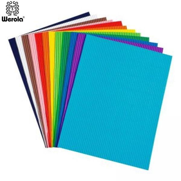 ΧΑΡΤΟΝΙ ΟΝΤΟΥΛΕ ΧΡΩΜΑΤΙΣΤΟ 50x70εκ WEROLA Ζωγραφική - Χειροτεχνία ειδη γραφειου, αναλωσιμα, γραφικη υλη - paperless.gr