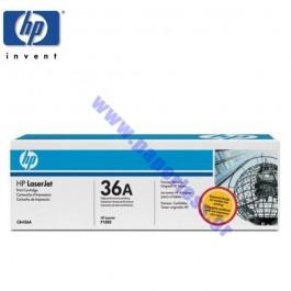 TONER HP CB436A 36A LJ P1505,P1505N,M1120MFP,M1522NF BLACK 2K Hewlett Packard toner ειδη γραφειου, αναλωσιμα, γραφικη υλη - paperless.gr