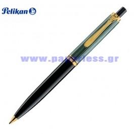 D400 SOUVERAN BLACK GREEN PENCIL PELIKAN ΜΟΛΥΒΙ Στυλογράφοι-Πένες ειδη γραφειου, αναλωσιμα, γραφικη υλη - paperless.gr