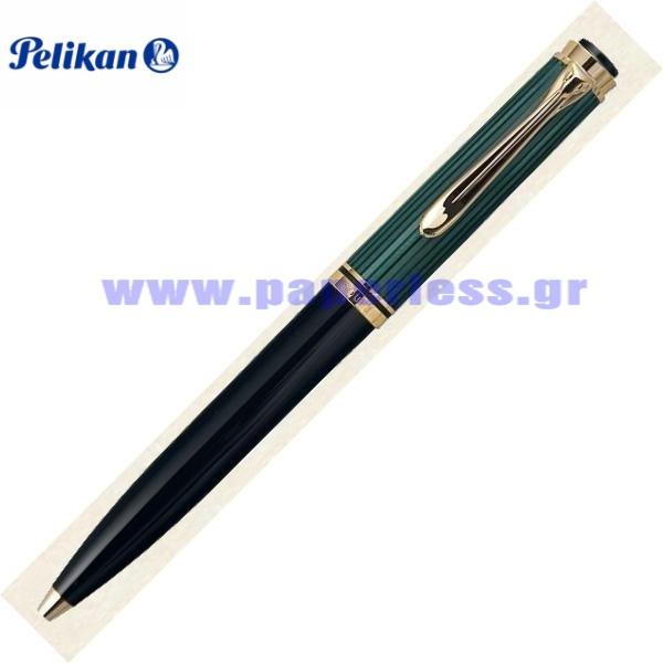 D600 SOUVERAN BLACK GREEN PENCIL PELIKAN ΜΟΛΥΒΙ Στυλογράφοι-Πένες ειδη γραφειου, αναλωσιμα, γραφικη υλη - paperless.gr