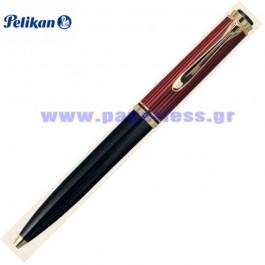 D600 SOUVERAN BLACK RED PENCIL PELIKAN ΜΟΛΥΒΙ Στυλογράφοι-Πένες ειδη γραφειου, αναλωσιμα, γραφικη υλη - paperless.gr