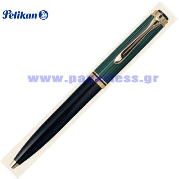 D800 SOUVERAN BLACK GREEN PENCIL PELIKAN ΜΟΛΥΒΙ Στυλογράφοι-Πένες ειδη γραφειου, αναλωσιμα, γραφικη υλη - paperless.gr