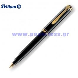 D800 SOUVERAN BLACK PENCIL PELIKAN ΜΟΛΥΒΙ Στυλογράφοι-Πένες ειδη γραφειου, αναλωσιμα, γραφικη υλη - paperless.gr