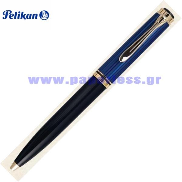 D800 SOUVERAN BLACK BLUE PENCIL PELIKAN ΜΟΛΥΒΙ Στυλογράφοι-Πένες ειδη γραφειου, αναλωσιμα, γραφικη υλη - paperless.gr