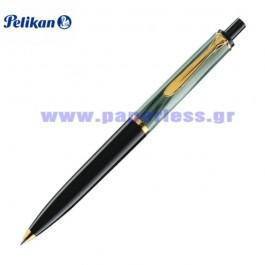 K200 GREEN MARBLE BALL PEN PELIKAN ΣΤΥΛΟ Στυλογράφοι-Πένες ειδη γραφειου, αναλωσιμα, γραφικη υλη - paperless.gr