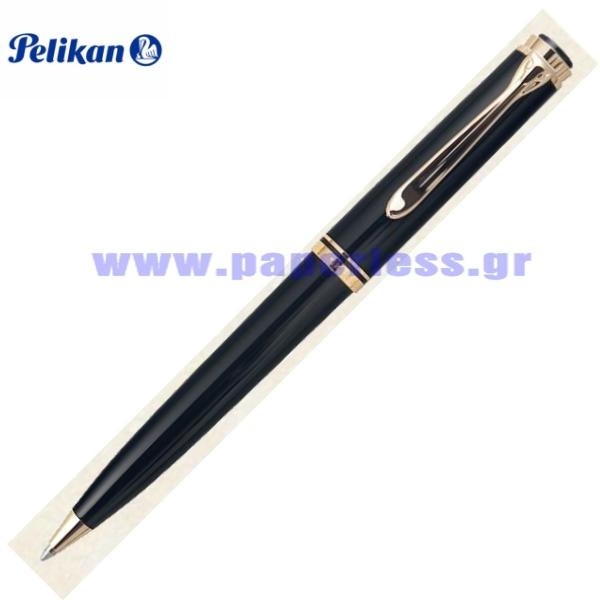 K600 SOUVERAN BLACK BALL PEN PELIKAN ΣΤΥΛΟ Στυλογράφοι-Πένες ειδη γραφειου, αναλωσιμα, γραφικη υλη - paperless.gr
