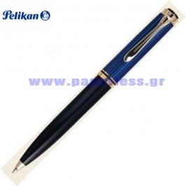 K600 SOUVERAN BLACK BLUE BALL PEN PELIKAN ΣΤΥΛΟ Στυλογράφοι-Πένες ειδη γραφειου, αναλωσιμα, γραφικη υλη - paperless.gr