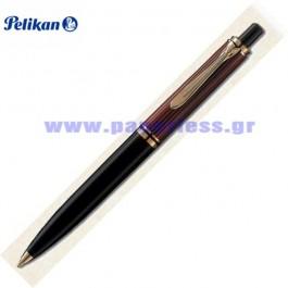 K600 SOUVERAN BLACK RED BALL PEN PELIKAN ΣΤΥΛΟ Στυλογράφοι-Πένες ειδη γραφειου, αναλωσιμα, γραφικη υλη - paperless.gr