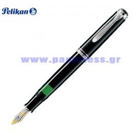 M405 SOUVERAN BLACK FOUNTAIN PEN PELIKAN ΠΕΝΑ Στυλογράφοι-Πένες ειδη γραφειου, αναλωσιμα, γραφικη υλη - paperless.gr