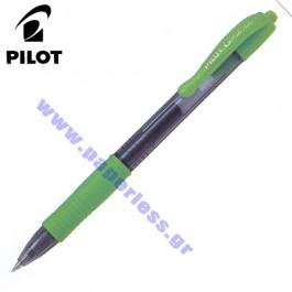 ΣΤΥΛΟ GEL G-2 0.7mm FINE PILOT ΠΡΑΣΙΝΟ ΑΝΟΙΚΤΟ 12 τεμάχια Στυλό Gel ειδη γραφειου, αναλωσιμα, γραφικη υλη - paperless.gr