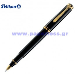 R400 SOUVERAN BLACK ROLLER BALL PELIKAN ΣΤΥΛΟ Στυλογράφοι-Πένες ειδη γραφειου, αναλωσιμα, γραφικη υλη - paperless.gr