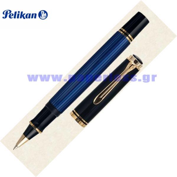 R400 SOUVERAN BLACK BLUE ROLLER BALL PELIKAN ΣΤΥΛΟ Στυλογράφοι-Πένες ειδη γραφειου, αναλωσιμα, γραφικη υλη - paperless.gr