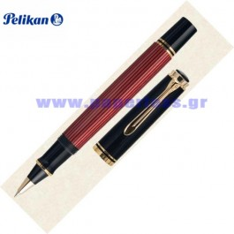 R400 SOUVERAN BLACK RED ROLLER BALL PELIKAN ΣΤΥΛΟ Στυλογράφοι-Πένες ειδη γραφειου, αναλωσιμα, γραφικη υλη - paperless.gr