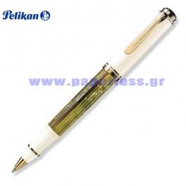 R400 SOUVERAN TORTOISE SHELL WHITE ROLLER BALL PELIKAN ΣΤΥΛΟ Στυλογράφοι-Πένες ειδη γραφειου, αναλωσιμα, γραφικη υλη - paperless.gr