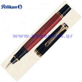 R600 SOUVERAN BLACK RED ROLLER BALL PELIKAN ΣΤΥΛΟ Στυλογράφοι-Πένες ειδη γραφειου, αναλωσιμα, γραφικη υλη - paperless.gr