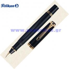 R600 SOUVERAN BLACK ROLLER BALL PELIKAN ΣΤΥΛΟ Στυλογράφοι-Πένες ειδη γραφειου, αναλωσιμα, γραφικη υλη - paperless.gr
