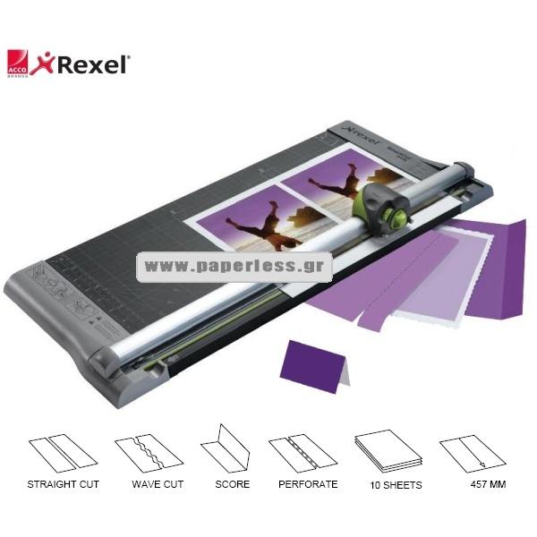 ΚΟΠΤΙΚΟ  47,3εκ. A3 ACCUCUT A445 PRO 4 IN 1 REXEL Κοπτικά - Γκιλοτίνες ειδη γραφειου, αναλωσιμα, γραφικη υλη - paperless.gr