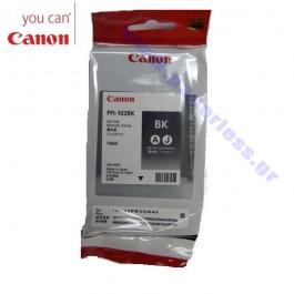 ΜΕΛΑΝΙ CANON PFI-102BK 0895B001 BLACK ~450p Canon inkjet ειδη γραφειου, αναλωσιμα, γραφικη υλη - paperless.gr